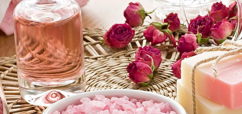 Óleo essencial de Rosas - relaxante e rejuvenescedor