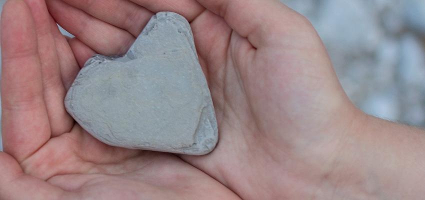 Como encontrar a paz de espírito através das pedras