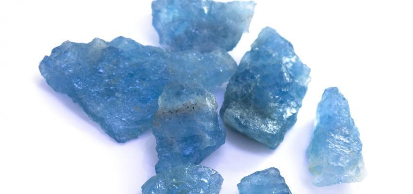 Água marinha: cristais de criatividade e expressão