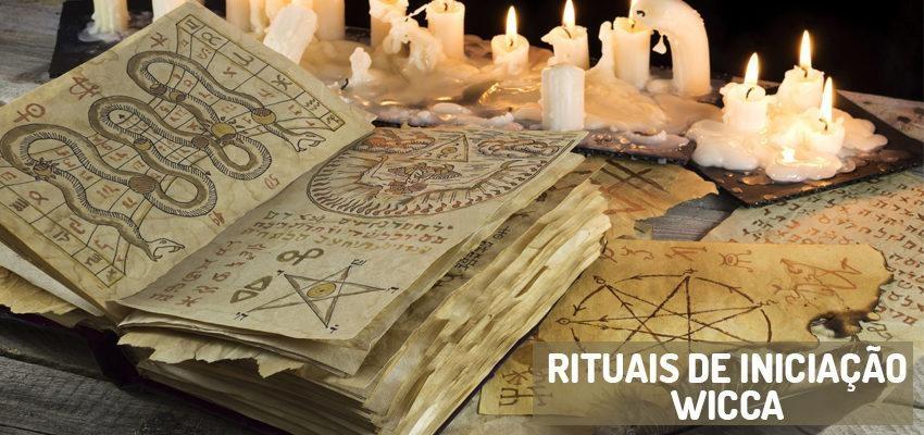 Rituais de auto iniciação e iniciação Wicca
