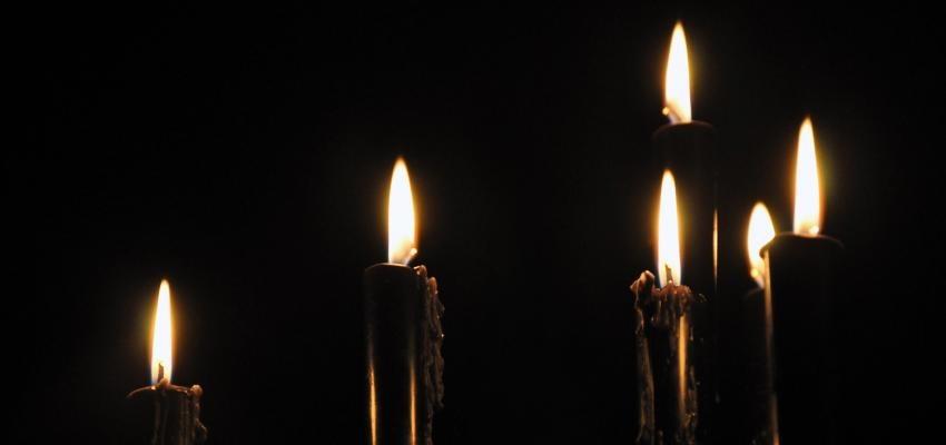 Ritual com velas pretas para espantar os males