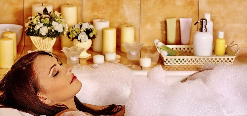 Tipos de sais de banho para revigorar as energias