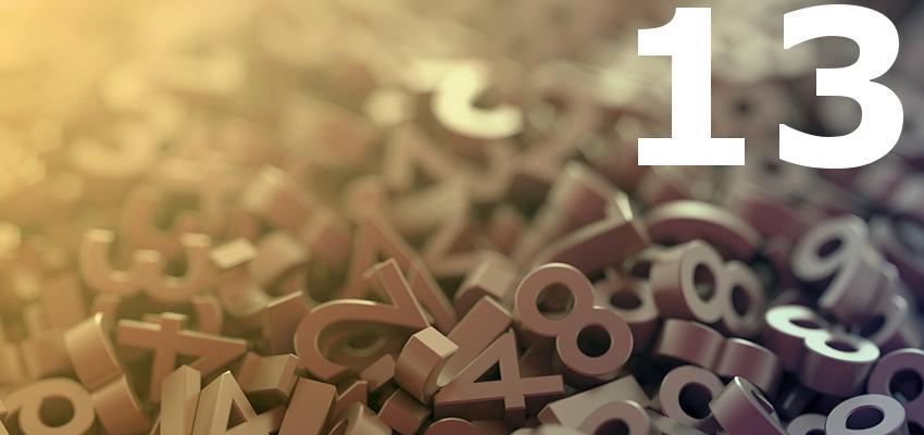 Sorte ou azar? Descubra significado do Número 13 para a numerologia