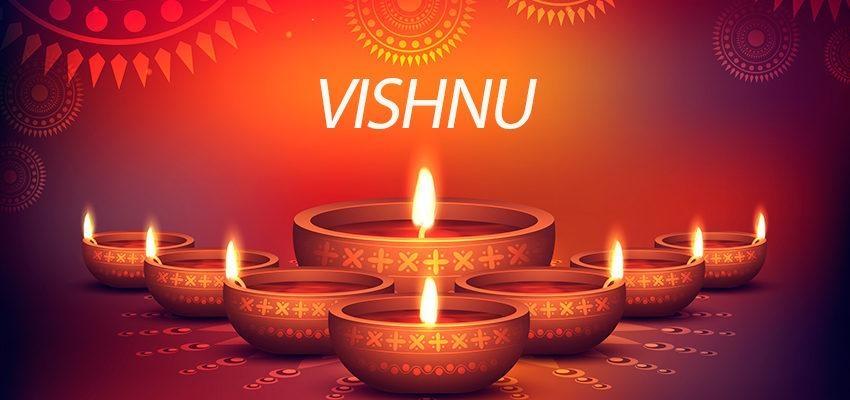 Vishnu: deus da manutenção, da proteção e da sustentação