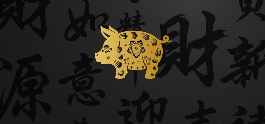 Você é do signo chinês Porco? Veja a influência do seu signo ascendente