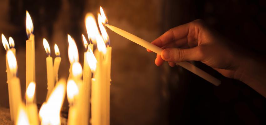 A interpretação da chama das velas na Umbanda