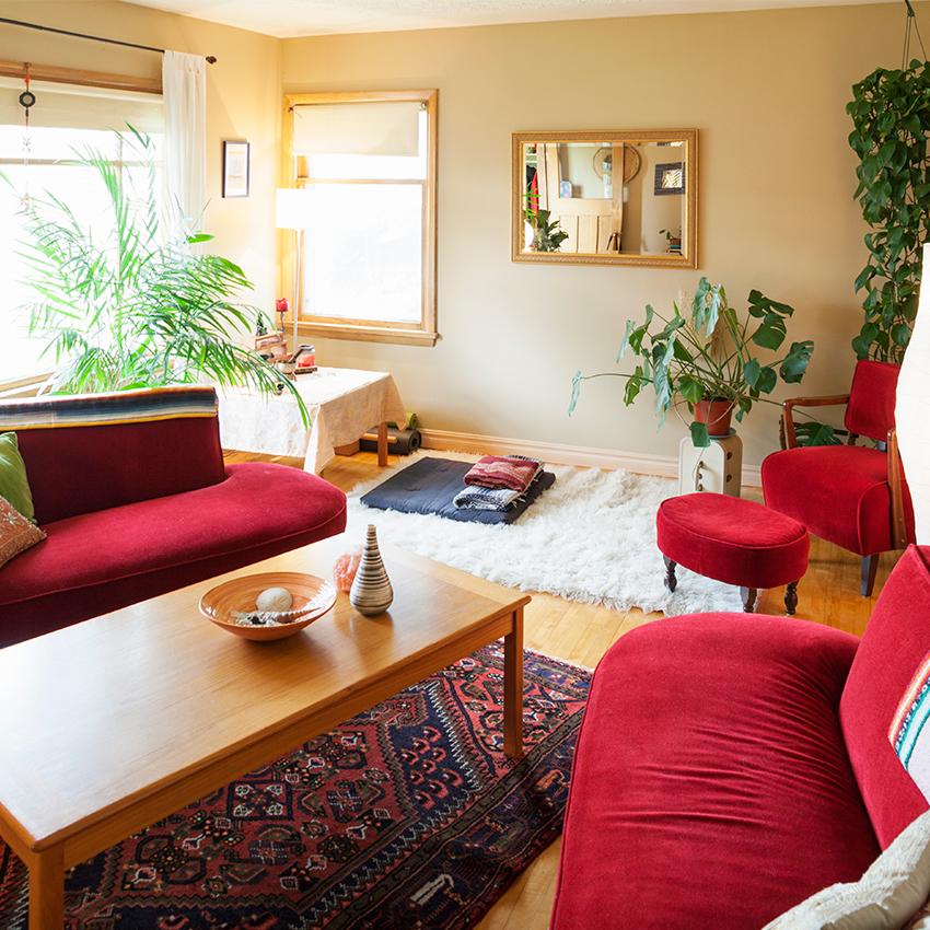 Feng shui qual a cor ideal para cada c modo da casa for Plano casa feng shui ideal