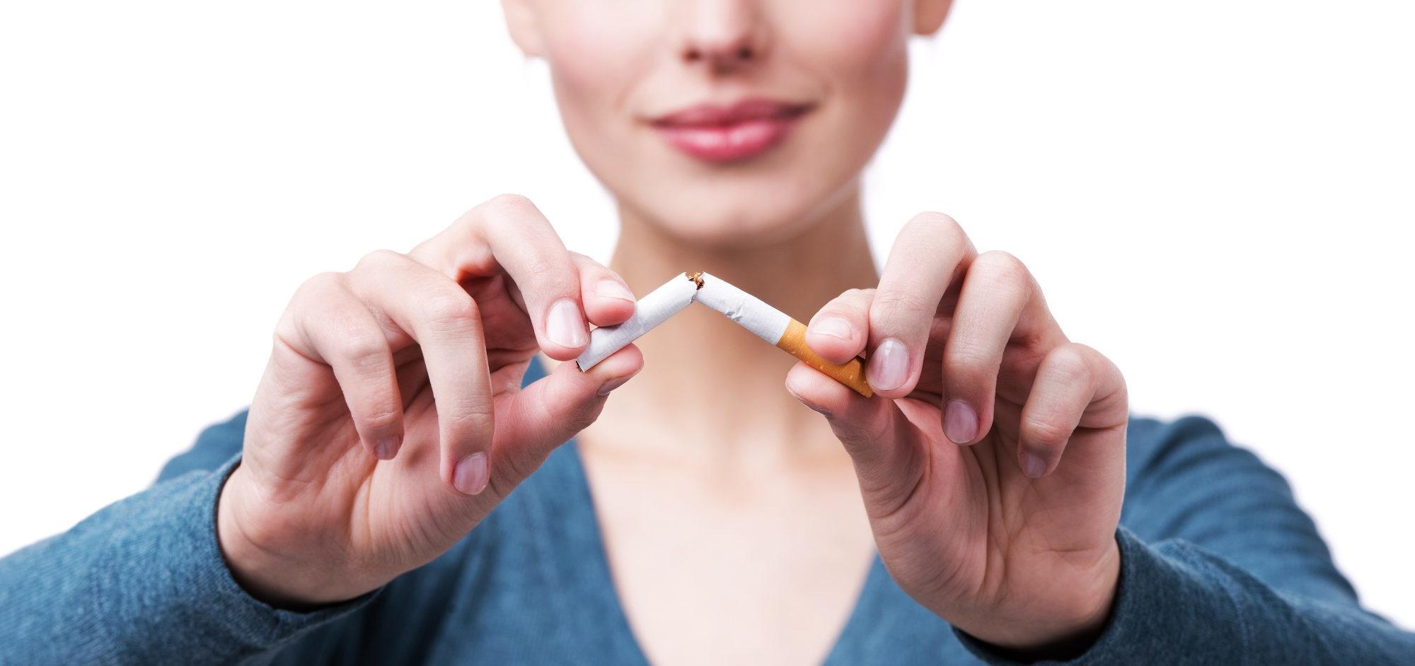 Se deixar de fumar a pressão diminuirá