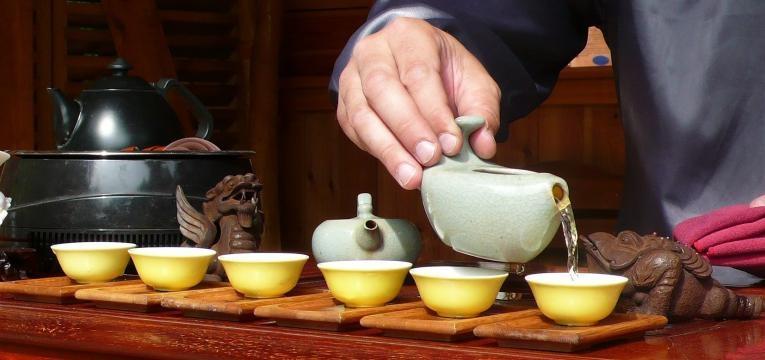 chá dente-de-leão
