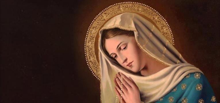 corrente de oração virgem maria