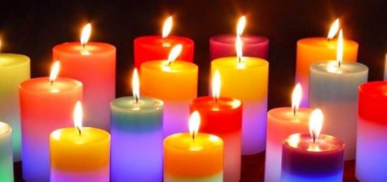 vela de sete cores