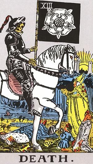 tarot - Morte