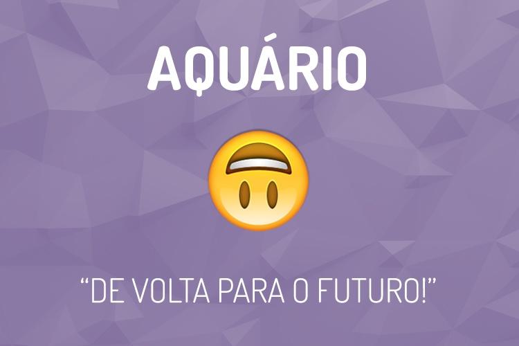Emoji do Signo Aquário