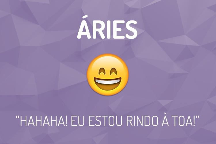Emoji do Signo Áries