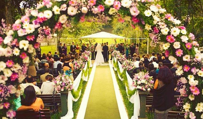 Feng Shui para Casamentos: Flores
