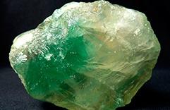 cristais de cura: Fluorita verde