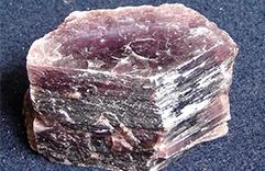 Cristal Lepidolita