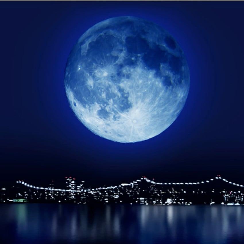 fases da lua em 2017 - Lua Cheia