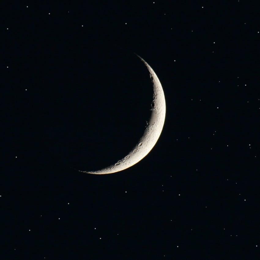 fases da lua em 2017 - Lua Nova