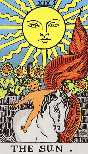 tarot - o sol