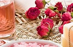 óleos essenciais para a pele: Rosas