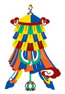 Símbolos budistas - Bandeira da vitória