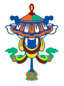 Símbolos budistas - guarda-sol