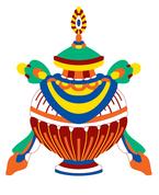 Símbolos budistas - Vaso