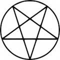 Símbolos Satânicos - Pentagrama Invertido