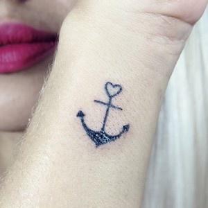 significados das tatuagens - Tatuagem Âncora