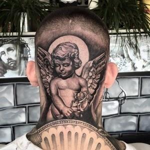 significados das tatuagens - tatuagem de Anjo ou querubim