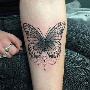 significados das tatuagens - tatuagem de borboleta