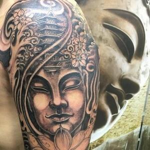 significados das tatuagens - tatuagem de buda
